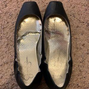 Jessica Simpson square-toe ballet flat